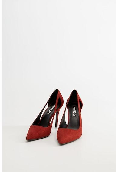 Mango Обувки Every с остър връх, отвори и ток стилето Жени