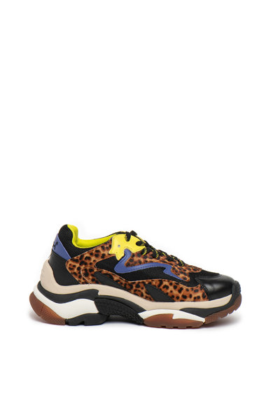 ASH Pantofi sport cu garnituri de piele Addict Femei