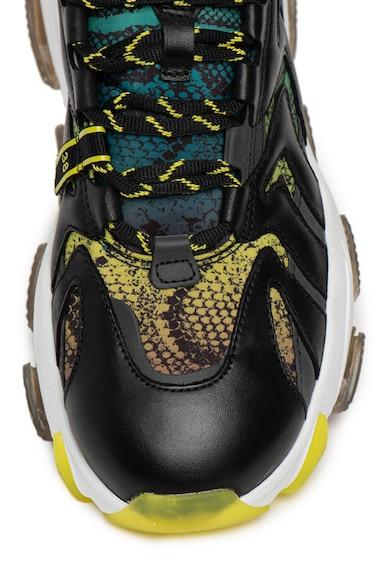 ASH Pantofi sport de piele si material textil Extreme Femei