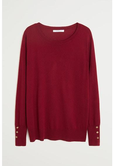 VIOLETA BY MANGO Pulover din tricot fin, din amestec de casmir Gigi Femei