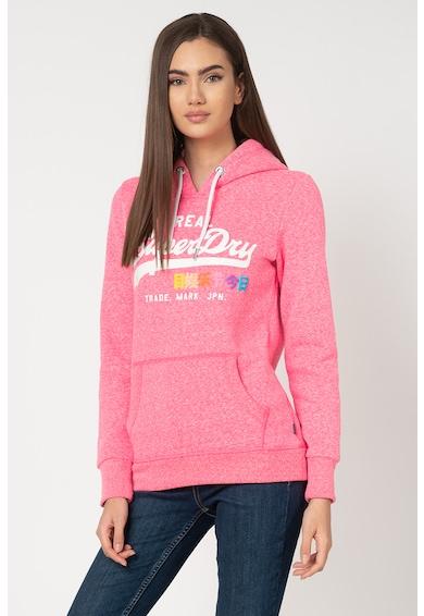 SUPERDRY Hanorac cu imprimeu logo Pop Entry Femei
