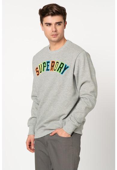 SUPERDRY Bluza sport cu logo brodat Barbati