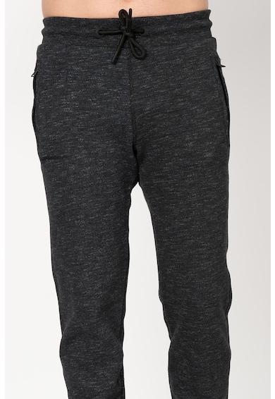 SUPERDRY Pantaloni sport cu snur si captuseala din fleece Urban Barbati