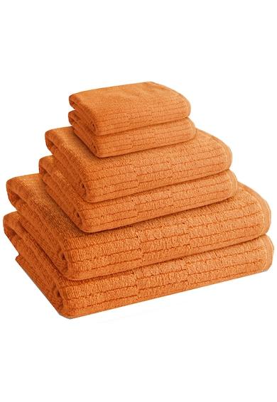 AGLIKA Set 6 prosoape baie Sani Mustard  100% bumbac, 2 x 30x50 / 2 x 50x100 / 2 x 70x140 cm Femei