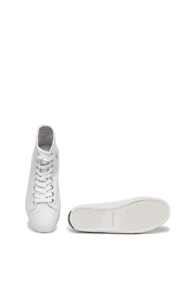 Calvin Klein Jeans Tenisi din panza cu logo si varf intarit Iole Femei