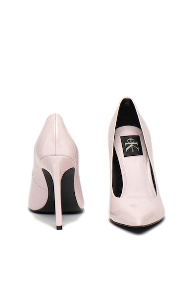Calvin Klein Jeans Pantofi stiletto din piele lacuita, cu varf ascutit Paige Femei