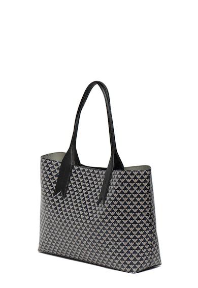 Emporio Armani Geanta shopper din piele ecologica, cu imprimeu logo Femei