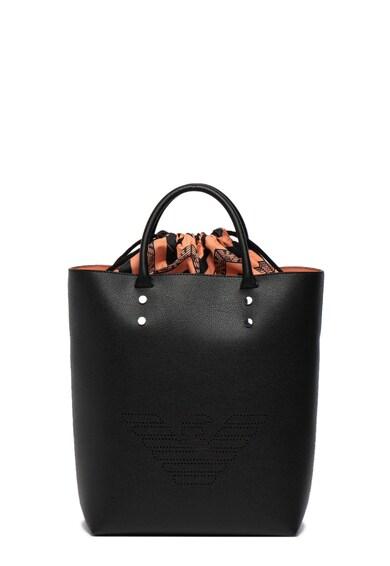 Emporio Armani Geanta shopper din piele ecologica cu captuseala detasabila Femei