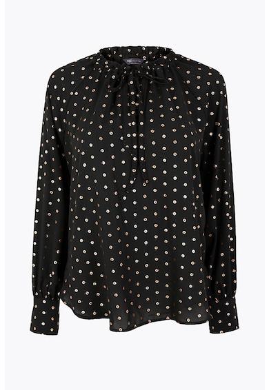 Marks & Spencer Bluza vaporoasa cu buline Femei