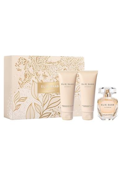 Elie Saab Set  Femei: Apa de Parfum, 50 ml + Lotiune de corp, 75 ml + Gel de dus, 75 ml Femei