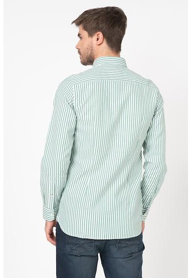 Tommy Hilfiger Tailored Camasa slim fit in dungi, cu aspect texturat Barbati