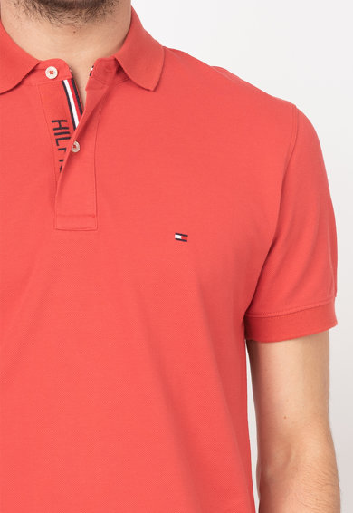 Tommy Hilfiger Tailored Tricou polo regular fit din material pique - Barbati