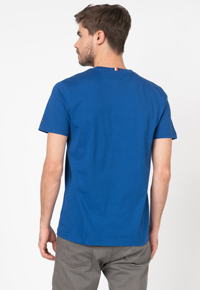Tommy Hilfiger Tailored Tricou cu logo brodat Barbati
