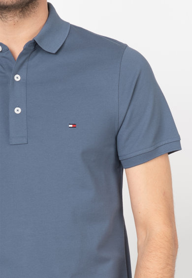 Tommy Hilfiger Tailored Tricou polo slim fit din material pique Barbati