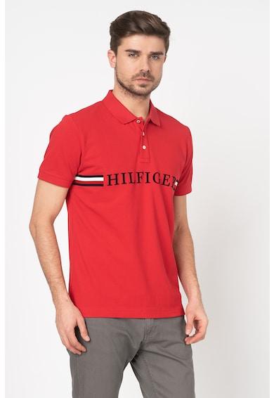 Tommy Hilfiger Tailored Tricou polo regular fit cu logo Barbati
