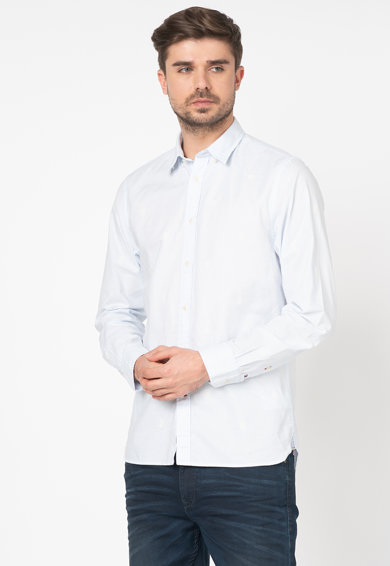 Tommy Hilfiger Tailored Camasa regular fit cu imprimeu cu broderie logo Barbati