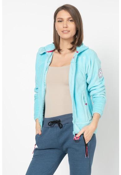 Canadian Peak Bluza sport din material teddy, cu fermoar Udilas Femei