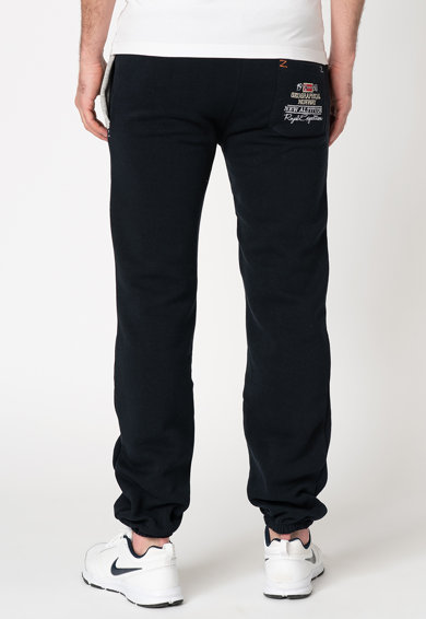 Geographical Norway Pantaloni sport cu aplicatii logo Myer Barbati