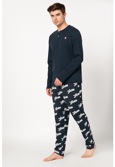 Guess Pijama cu imprimeu logo Barbati