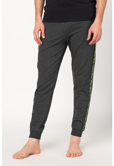 Guess Pantaloni sport conici cu snur pentru ajustare, in talie Barbati
