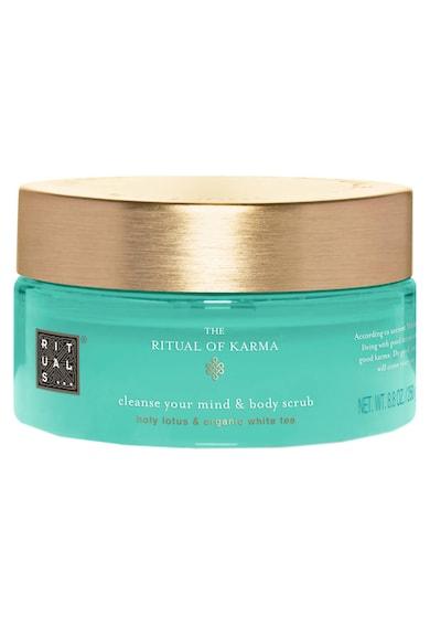 Rituals Scrub pentru corp  Karma Cleanse Your Mind & Body Holy Lotus & Organic White Tea, 250 g Femei