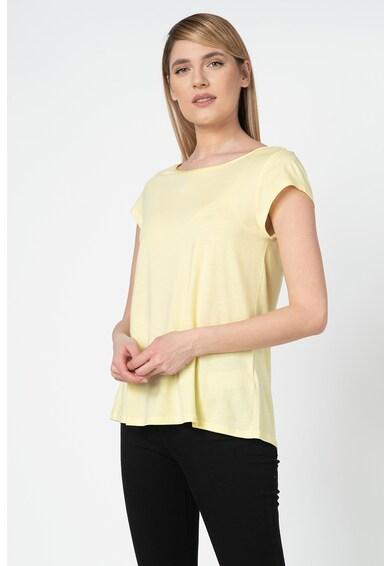 Esprit Tricou din amestec de modal, cu detaliu cu model incrucisat pe partea din spate Femei