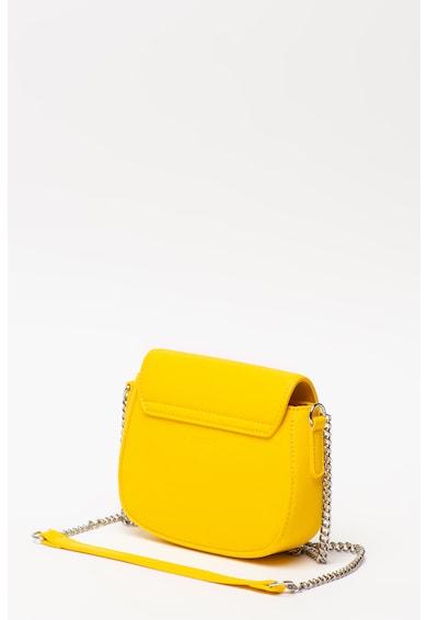 Esprit Geanta crossbody din piele ecologica cu aplicatie logo metalica Femei