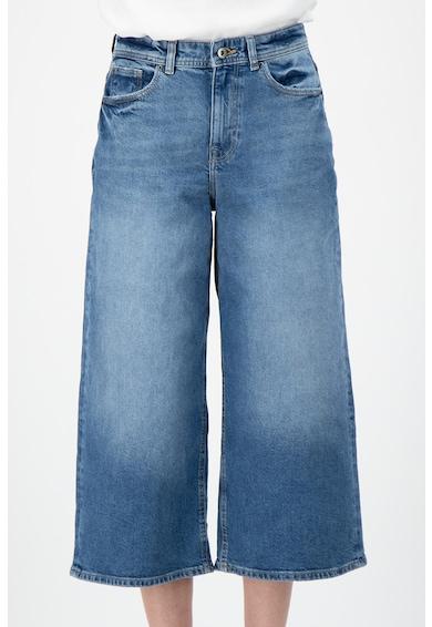 EDC by Esprit Pantaloni din denim, cu croiala lejera si aspect decolorat Femei