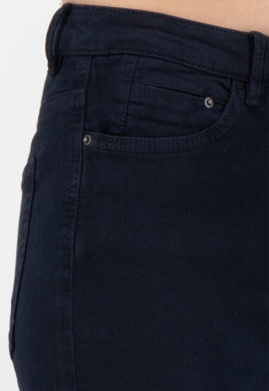 Esprit Pantaloni crop skinny cu talie medie Femei