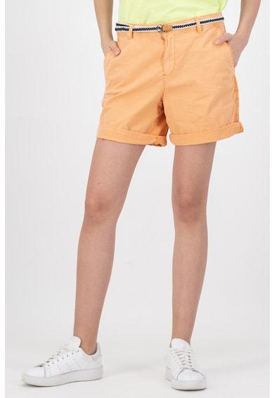 Esprit Pantaloni scurti chino cu o curea tesuta Femei