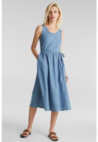 Esprit Разкроена рокля от деним Жени