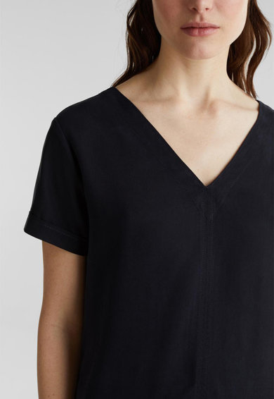 Esprit Рокля тип тениска от лиосел Жени