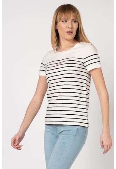 Esprit Tricou din bumbac cu model in dungi Femei