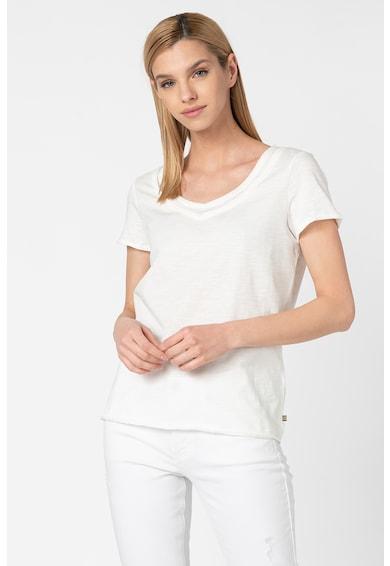Esprit Тениска от жарсе с шпиц Жени