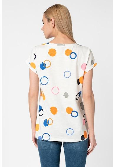 Esprit Тениска от органичен памук с фигурален десен Жени