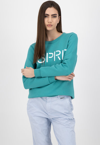 Esprit Bluza sport cu imprimeu logo Femei