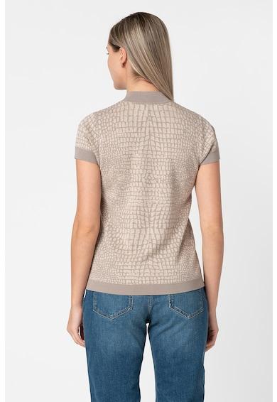 Esprit Pulover din tricot fin cu model piele de reptila Femei