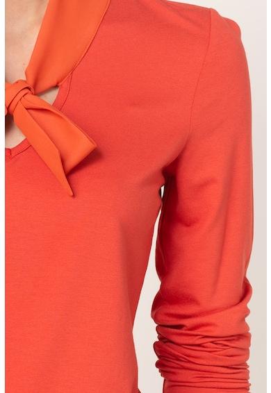 Esprit Bluza cu guler cu funda din panglici Femei
