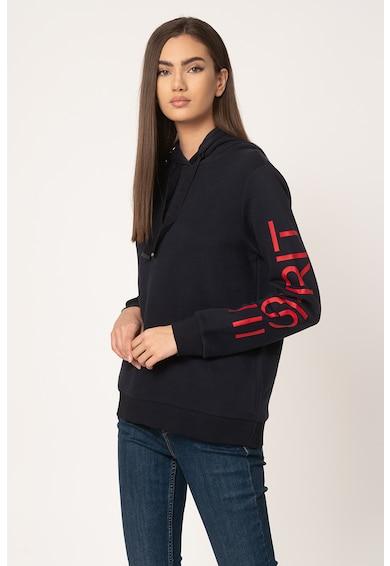 Esprit Hanorac cu imprimeu logo si captuseala de fleece Femei