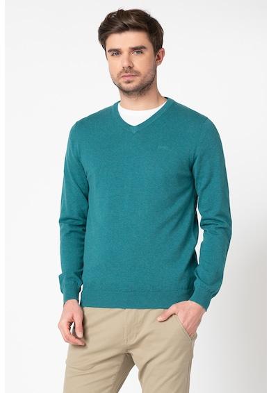 Esprit Pulover din bumbac organic si tricot fin Barbati