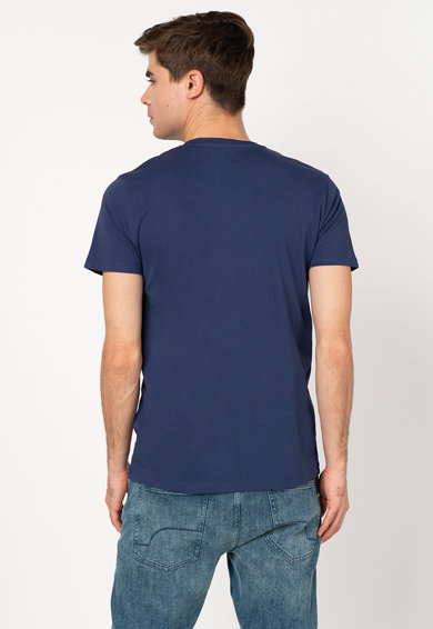 Esprit Tricou din bumbac organic cu imprimeu logo 01 Barbati