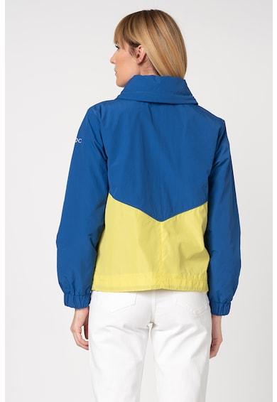 EDC by Esprit Jacheta cu model colorblock si snur in talie Femei