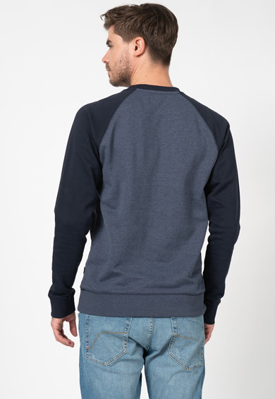 Esprit Bluza sport cu imprimeu logo si maneci raglan Barbati