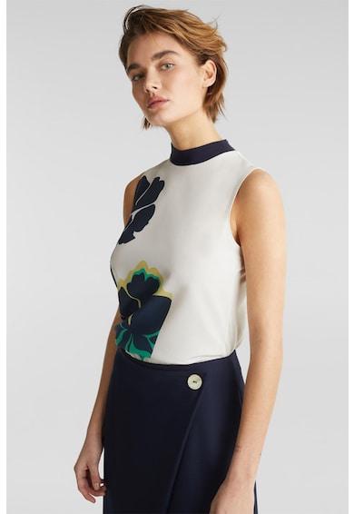 Esprit Bluza vaporoasa cu model floral Femei