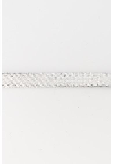 EDC by Esprit Curea texturata de piele, cu aspect metalizat Femei