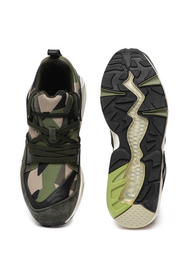 Puma Pantofi sport cu imprimeu camuflaj BOG Barbati