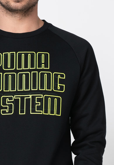 Puma Bluza sport cu imprimeu logo contrastant Disc Barbati