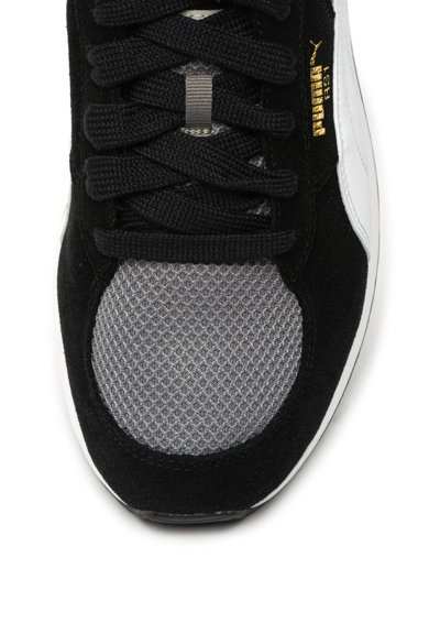 Puma Pantofi sport de piele intoarsa ecologica, cu insertii de plasa RS-1 OG Barbati