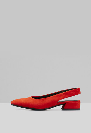 Vagabond Shoemakers Sandale slingback de piele intoarsa Femei