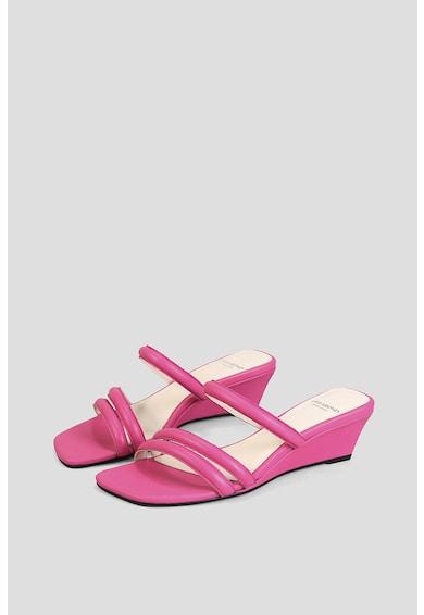 Vagabond Shoemakers Papuci wedge de piele Nellie Femei